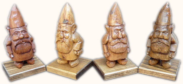 Gnome Carvings